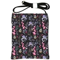 Wildflowers I Shoulder Sling Bags by tarastyle