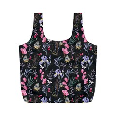 Wildflowers I Full Print Recycle Bags (m)  by tarastyle