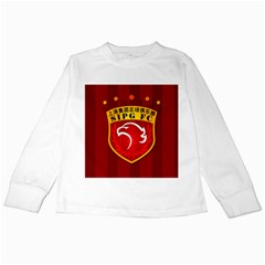 Shanghai Sipg F C  Kids Long Sleeve T Shirts by Valentinaart