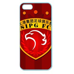 Shanghai Sipg F C  Apple Seamless Iphone 5 Case (color) by Valentinaart