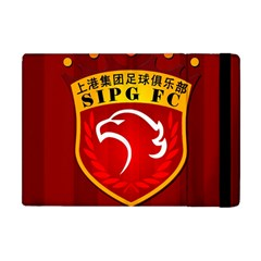 Shanghai Sipg F C  Apple Ipad Mini Flip Case by Valentinaart