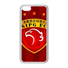 Shanghai Sipg F C  Apple Iphone 5c Seamless Case (white) by Valentinaart