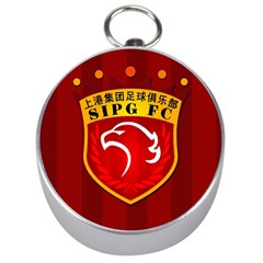 Shanghai Sipg F C  Silver Compasses by Valentinaart