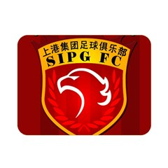 Shanghai Sipg F C  Double Sided Flano Blanket (mini)  by Valentinaart