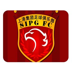Shanghai Sipg F C  Double Sided Flano Blanket (large)  by Valentinaart