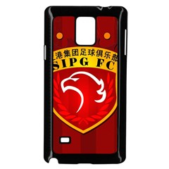 Shanghai Sipg F C  Samsung Galaxy Note 4 Case (black) by Valentinaart