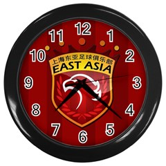 Shanghai Sipg F C  Wall Clocks (black) by Valentinaart