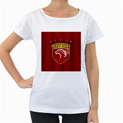 Shanghai Sipg F C  Women s Loose Fit T Shirt (white) by Valentinaart