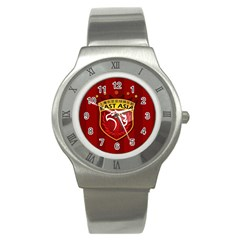 Shanghai Sipg F C  Stainless Steel Watch by Valentinaart