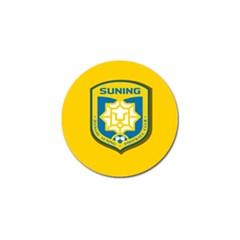 Jiangsu Suning F C  Golf Ball Marker (4 Pack) by Valentinaart