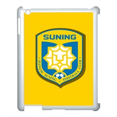 Jiangsu Suning F C  Apple Ipad 3/4 Case (white) by Valentinaart