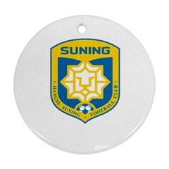 Jiangsu Suning F C  Ornament (round)