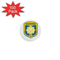 Jiangsu Suning F C  1  Mini Buttons (100 Pack)  by Valentinaart