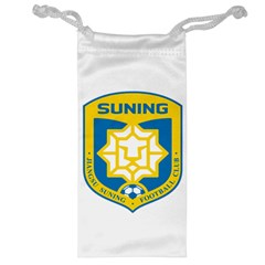 Jiangsu Suning F C  Jewelry Bag by Valentinaart