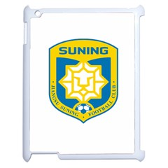Jiangsu Suning F C  Apple Ipad 2 Case (white) by Valentinaart