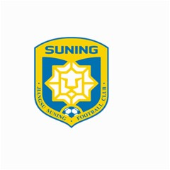 Jiangsu Suning F C  Small Garden Flag (two Sides) by Valentinaart