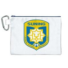 Jiangsu Suning F C  Canvas Cosmetic Bag (xl) by Valentinaart