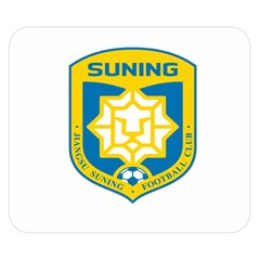 Jiangsu Suning F C  Double Sided Flano Blanket (small)  by Valentinaart