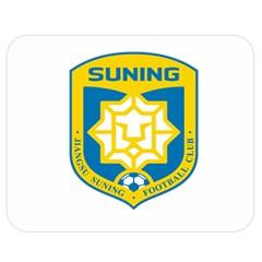 Jiangsu Suning F C  Double Sided Flano Blanket (medium)  by Valentinaart