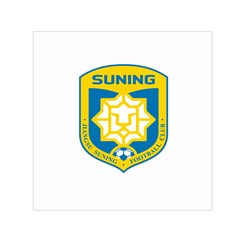Jiangsu Suning F C  Small Satin Scarf (square) by Valentinaart