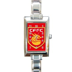 Hebei China Fortune F C  Rectangle Italian Charm Watch by Valentinaart