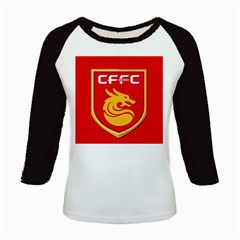 Hebei China Fortune F C  Kids Baseball Jerseys by Valentinaart