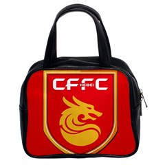 Hebei China Fortune F C  Classic Handbags (2 Sides) by Valentinaart