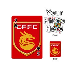 Hebei China Fortune F C  Playing Cards 54 (mini)  by Valentinaart