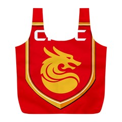 Hebei China Fortune F C  Full Print Recycle Bags (l)  by Valentinaart