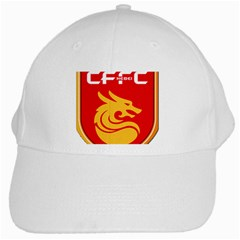 Hebei China Fortune F C  White Cap by Valentinaart