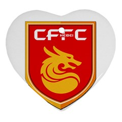 Hebei China Fortune F C  Ornament (heart) by Valentinaart