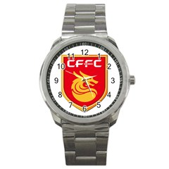 Hebei China Fortune F C  Sport Metal Watch by Valentinaart