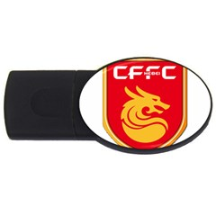 Hebei China Fortune F C  Usb Flash Drive Oval (4 Gb) by Valentinaart