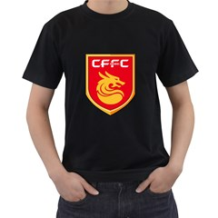 Hebei China Fortune F C  Men s T Shirt (black) by Valentinaart