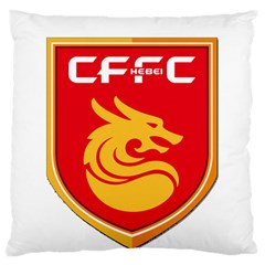 Hebei China Fortune F C  Large Cushion Case (one Side) by Valentinaart