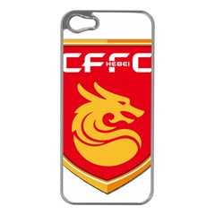 Hebei China Fortune F C  Apple Iphone 5 Case (silver) by Valentinaart