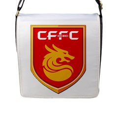 Hebei China Fortune F C  Flap Messenger Bag (l)  by Valentinaart