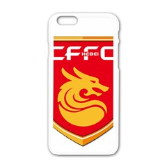 Hebei China Fortune F C  Apple Iphone 6/6s White Enamel Case by Valentinaart