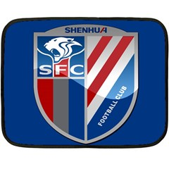 Shanghai Greenland Shenhua F C  Fleece Blanket (mini) by Valentinaart