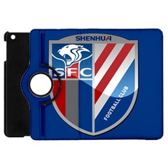 Shanghai Greenland Shenhua F C  Apple Ipad Mini Flip 360 Case by Valentinaart