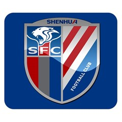 Shanghai Greenland Shenhua F C  Double Sided Flano Blanket (small)  by Valentinaart