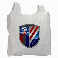 Shanghai Greenland Shenhua F C  Recycle Bag (one Side) by Valentinaart