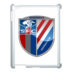 Shanghai Greenland Shenhua F C  Apple Ipad 3/4 Case (white) by Valentinaart