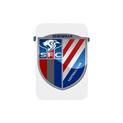 Shanghai Greenland Shenhua F C  Apple Ipad Mini Protective Soft Cases by Valentinaart