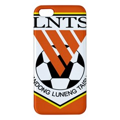 Shandong Luneng Taishan F C  Apple Iphone 5 Premium Hardshell Case by Valentinaart