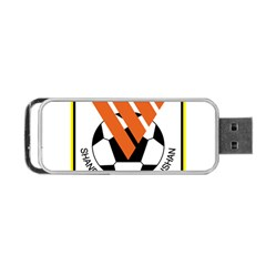 Shandong Luneng Taishan F C  Portable Usb Flash (two Sides) by Valentinaart