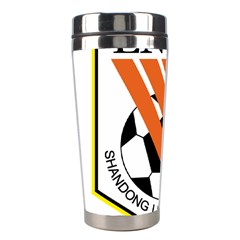 Shandong Luneng Taishan F C  Stainless Steel Travel Tumblers by Valentinaart