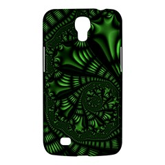 Fractal Drawing Green Spirals Samsung Galaxy Mega 6 3  I9200 Hardshell Case by Simbadda