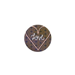 I Love You Love Background 1  Mini Magnets by Simbadda