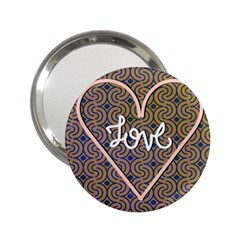 I Love You Love Background 2 25  Handbag Mirrors by Simbadda